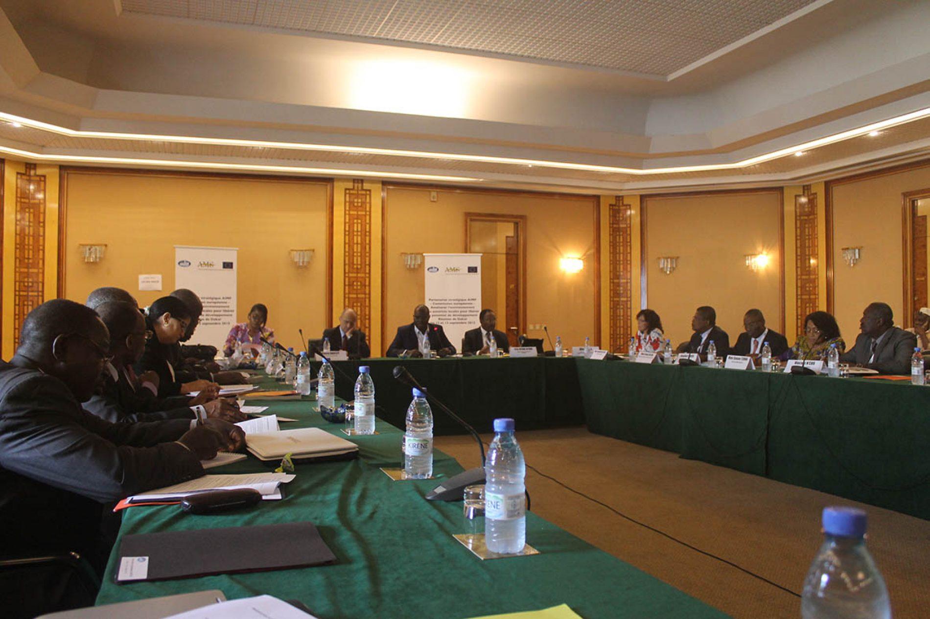 Partenariat AIMF-UE : Les maires planchent sur un agenda