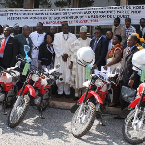 Appui aux communes: le PNDP offre 150 motos
