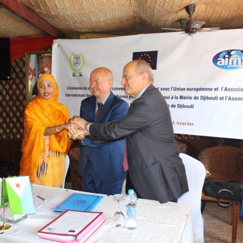 Djibouti : l'Union Européenne et l'AIMF signent un partenariat pour renforcer les autorités locales