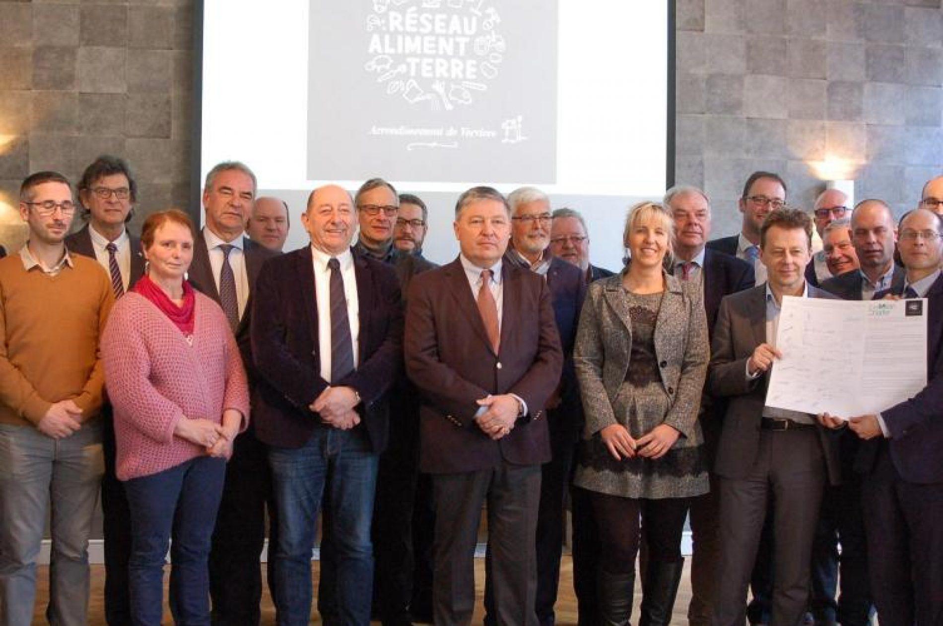Belgique : vingt communes signent la Charte de Milan pour une alimentation durable