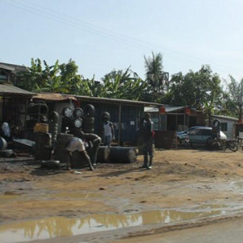 Douala : L'entrée Est en chantier