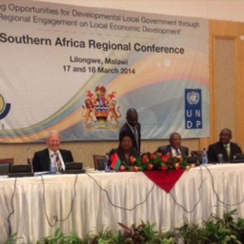 Les collectivités d'Afrique Australe en conclave