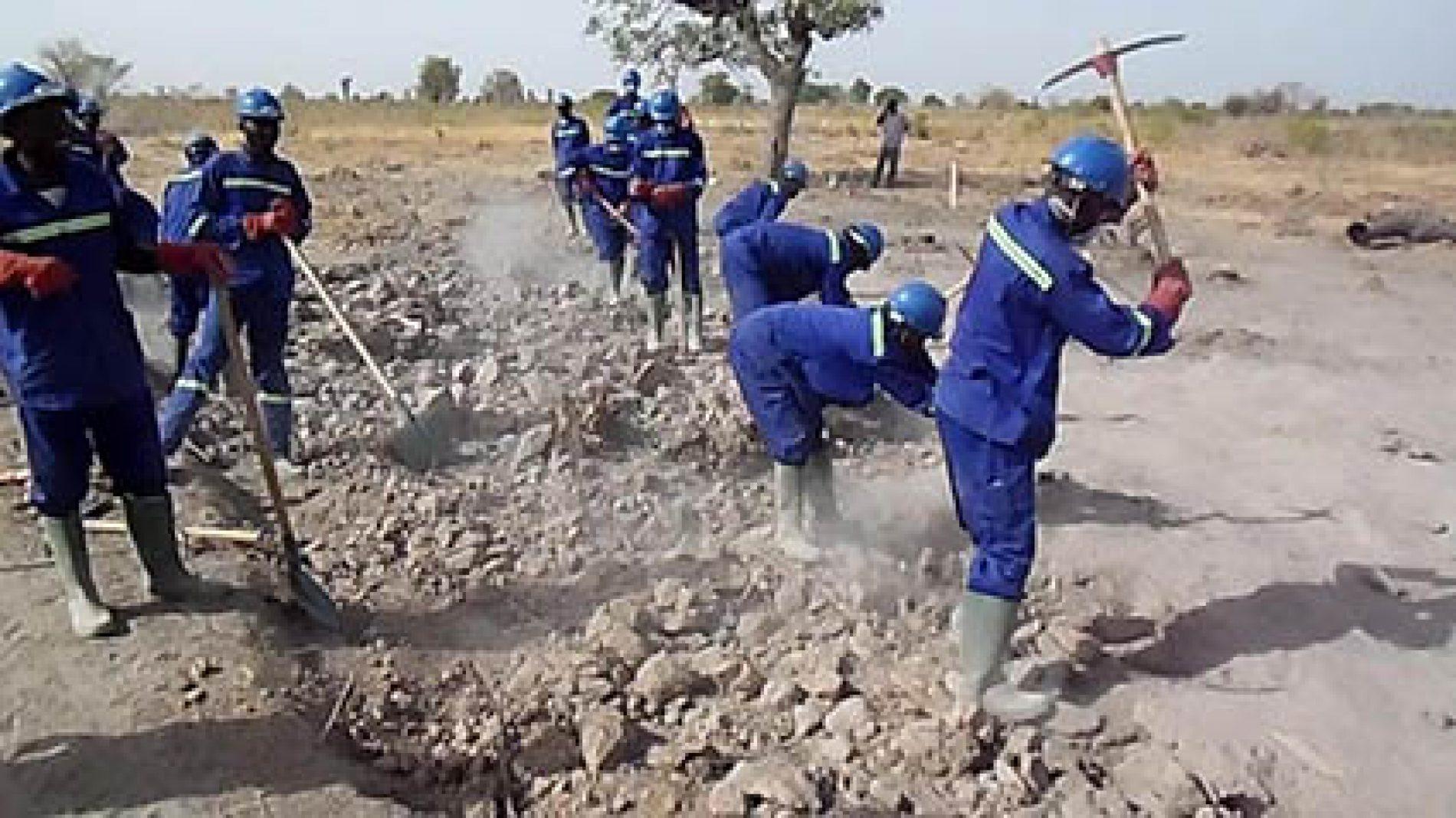 HIMO-PNDP: les projets prennent corps sur le terrain