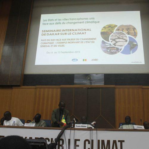 Dakar : Les maires francophones réunis sur le climat