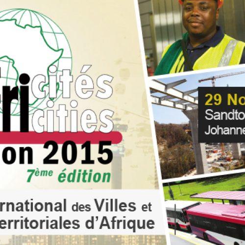 Africités 2015 : Les CGLUA s'activent dans la perspective de la vision 2063