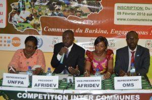 Conférence de presse du comité d'organisation Communes Awards