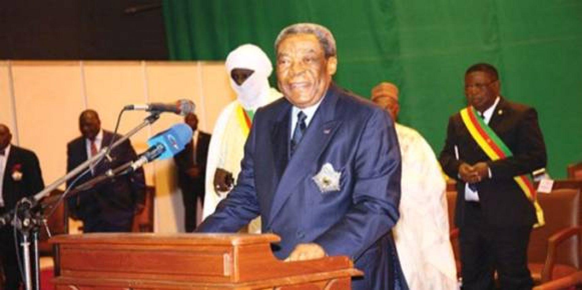 Sénat : Marcel Niat Njifenji encore président !