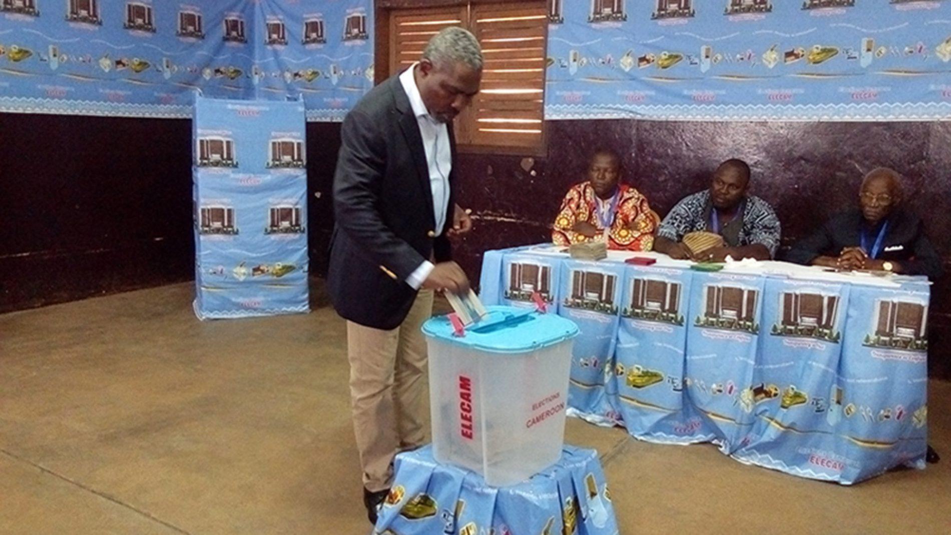 Sénatoriales 2018: De l'affluence dans les bureaux de vote du Mfoundi