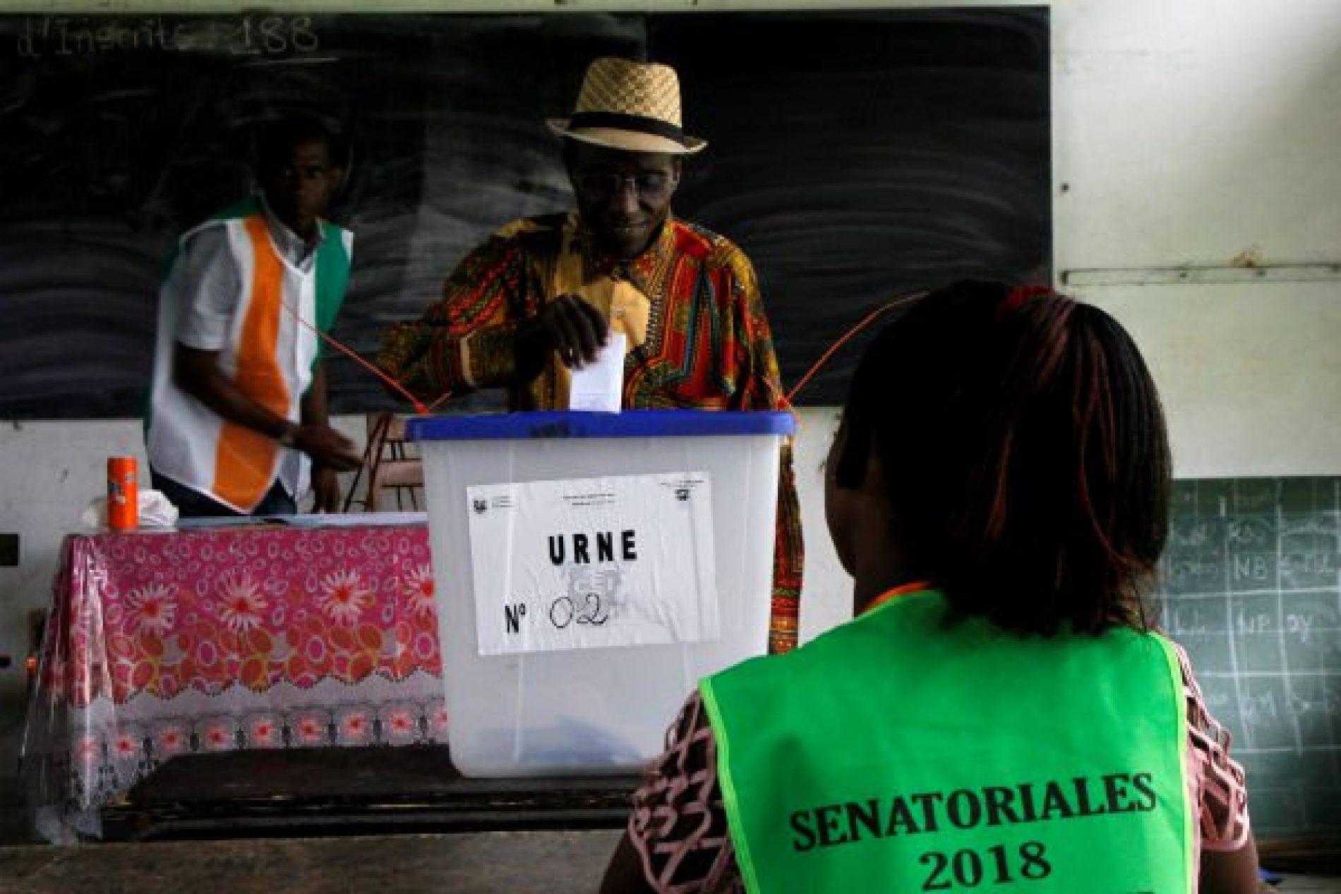 Côte-d'Ivoire: le Rhdp grand vainqueur des premières sénatoriales de l'histoire du pays