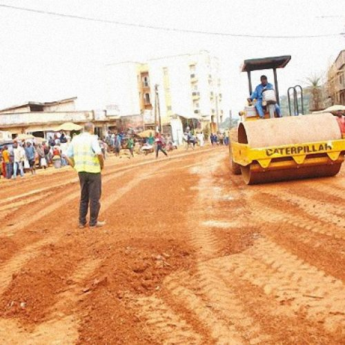 Yaoundé: Le tronçon Etam Bafia – Carrefour Esstig se transforme