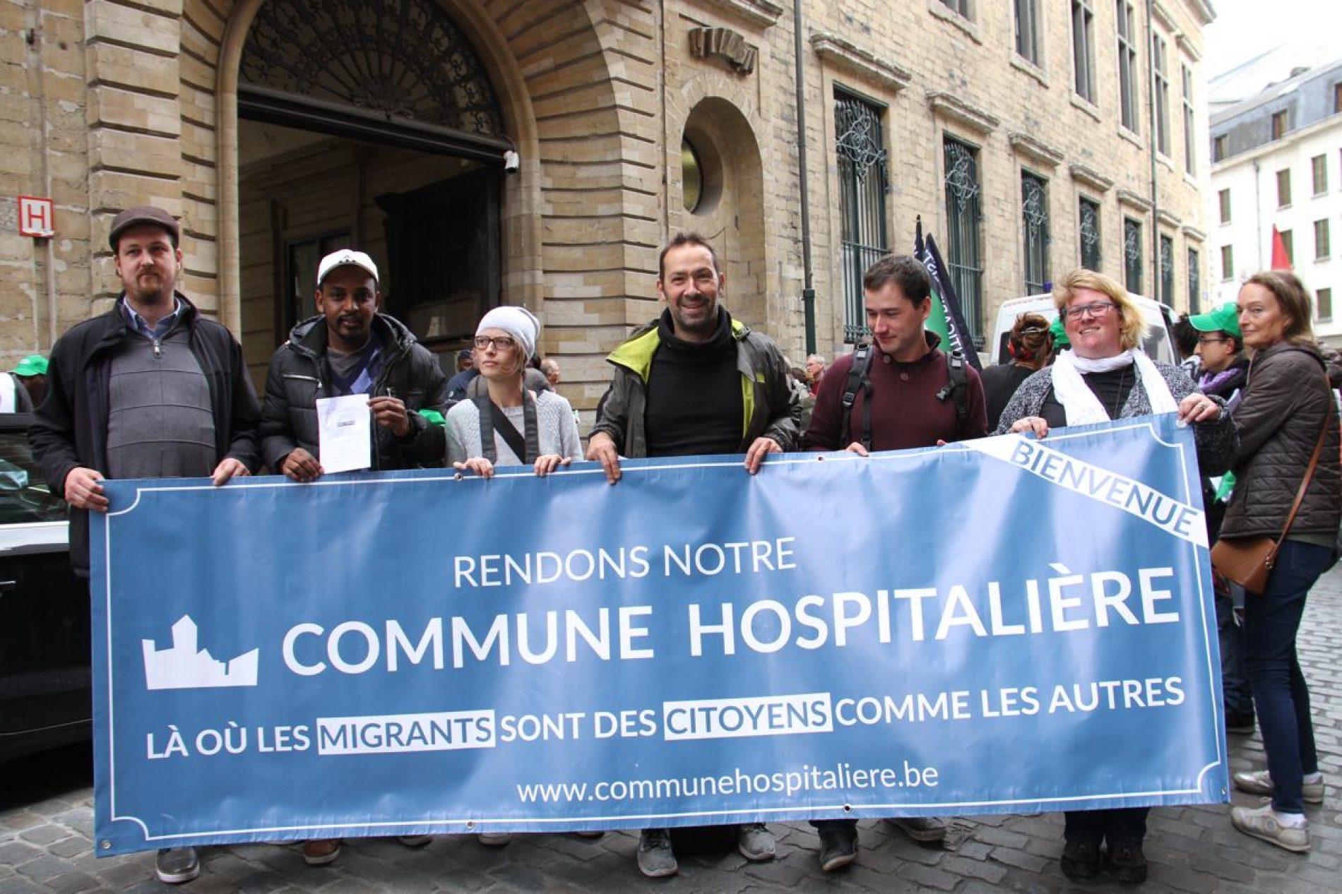 54 communes en Belgique accueillent les migrants