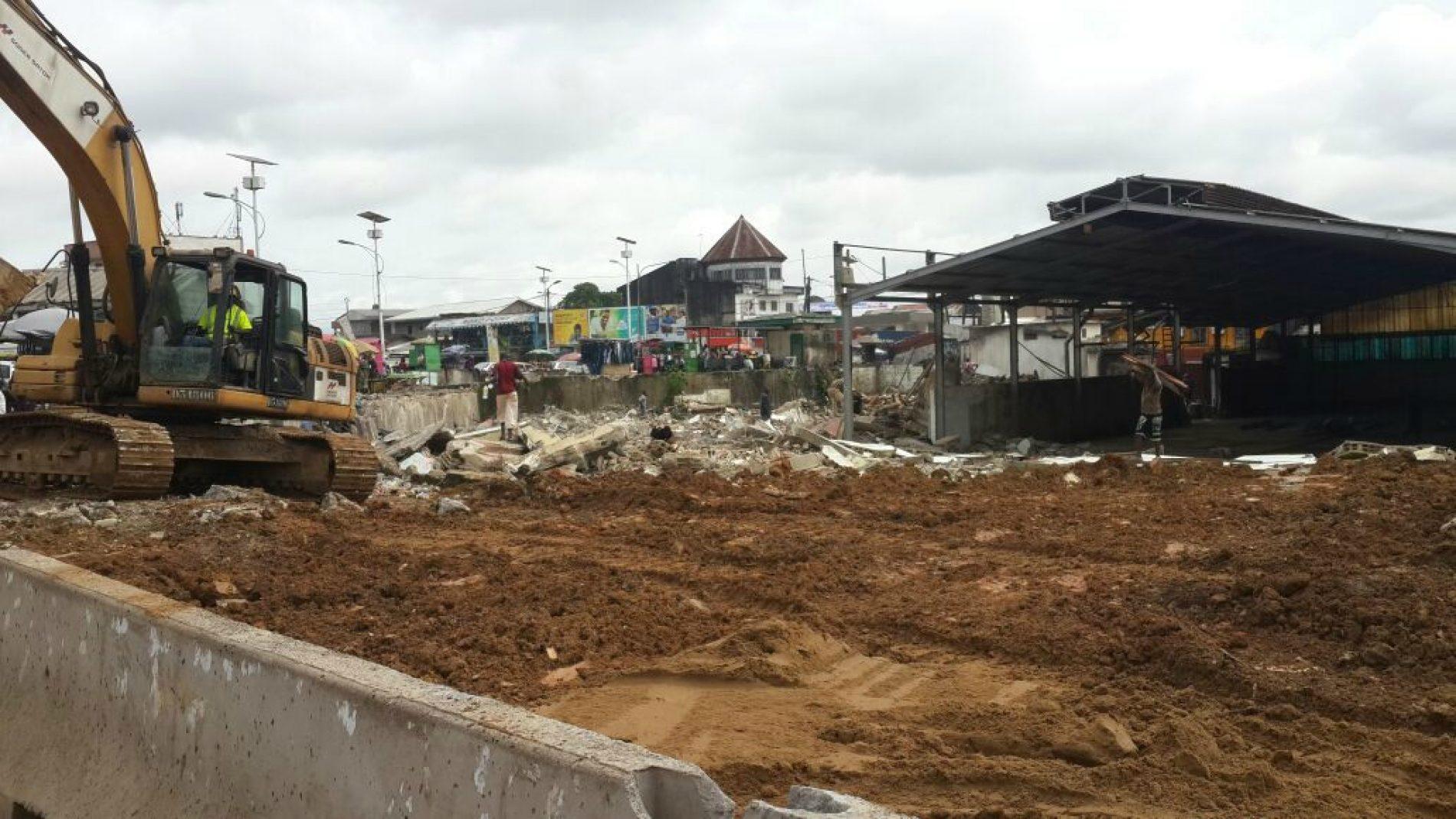 Aménagement routier: les travaux relancés au boulevard de la République