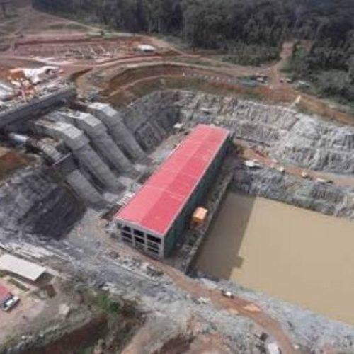 Le barrage de Memve'ele opérationnel en Octobre 2018