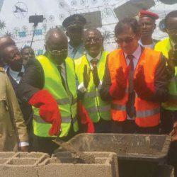 Le centre de métiers d'Ebebda en chantier