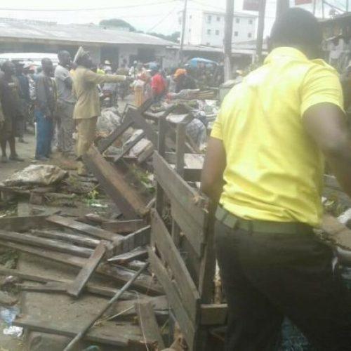 Douala: casses au marché New Deïdo