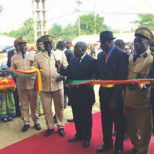 Dibombari: un nouveau siège pour la commune