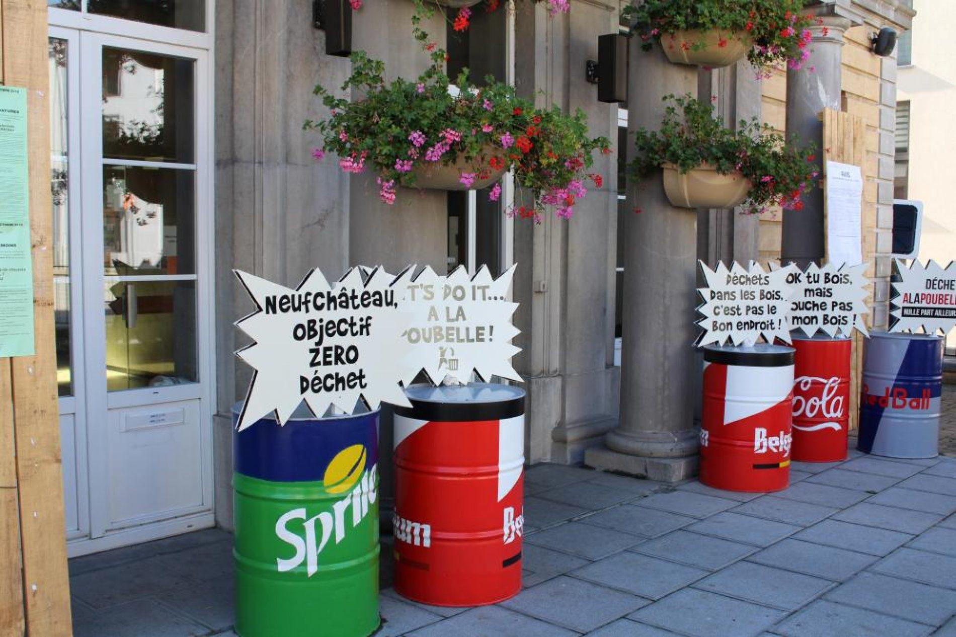 Belgique : La commune de Neufchâteau lance la collecte de canettes