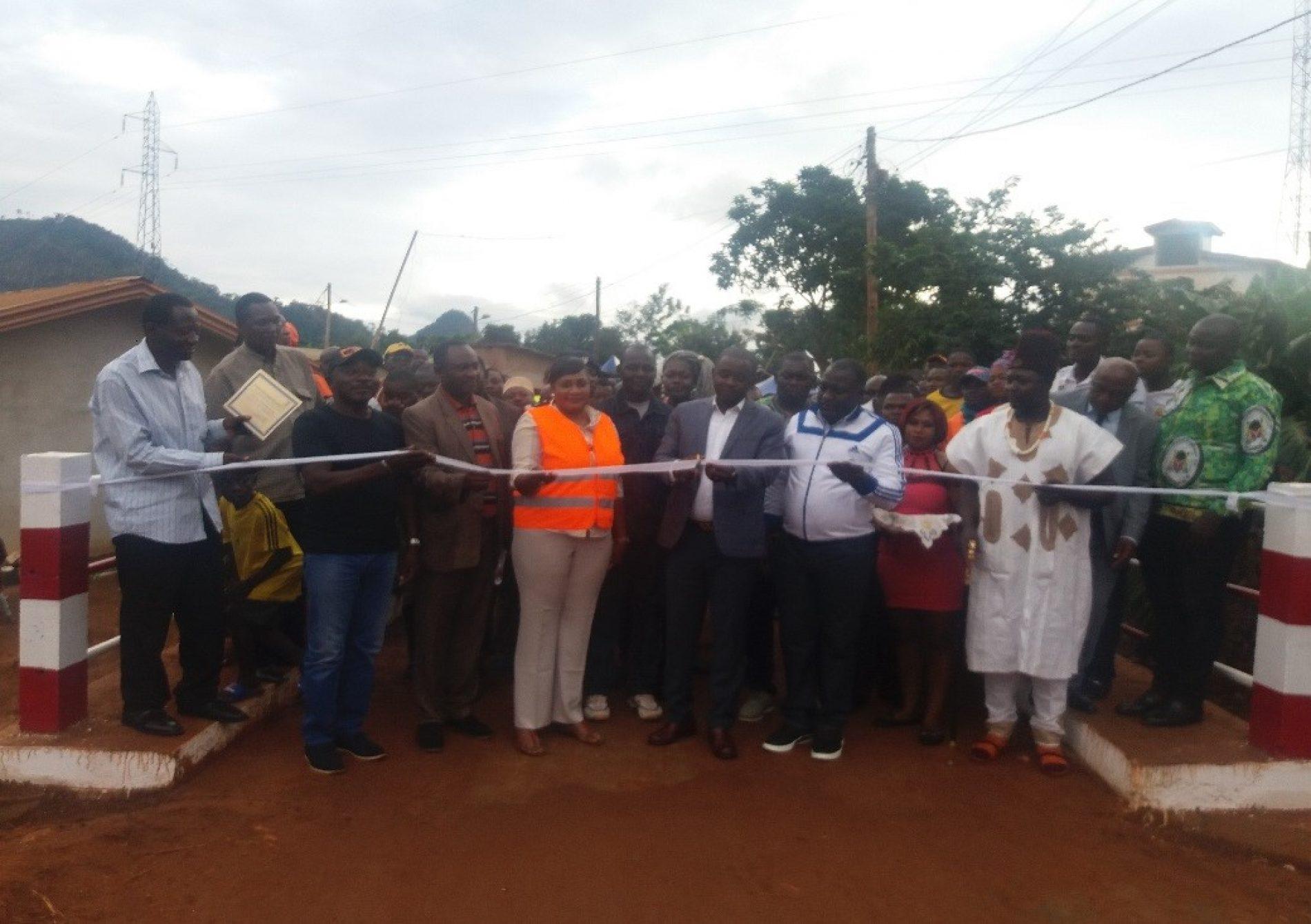 Commune de Yaoundé 6 : Le pont sur la rivière Mingoa-assi inauguré
