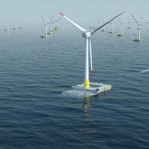 France : la première éolienne en mer mise en service