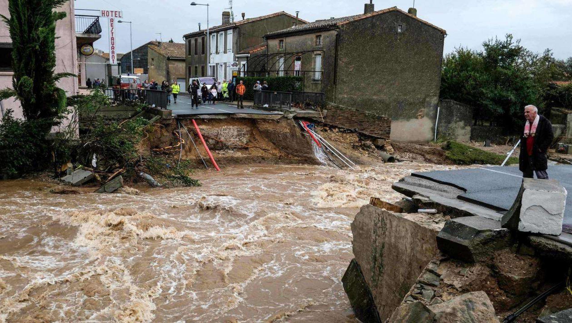 France – Inondations dans l'Aude : 126 communes en état de catastrophe naturelle