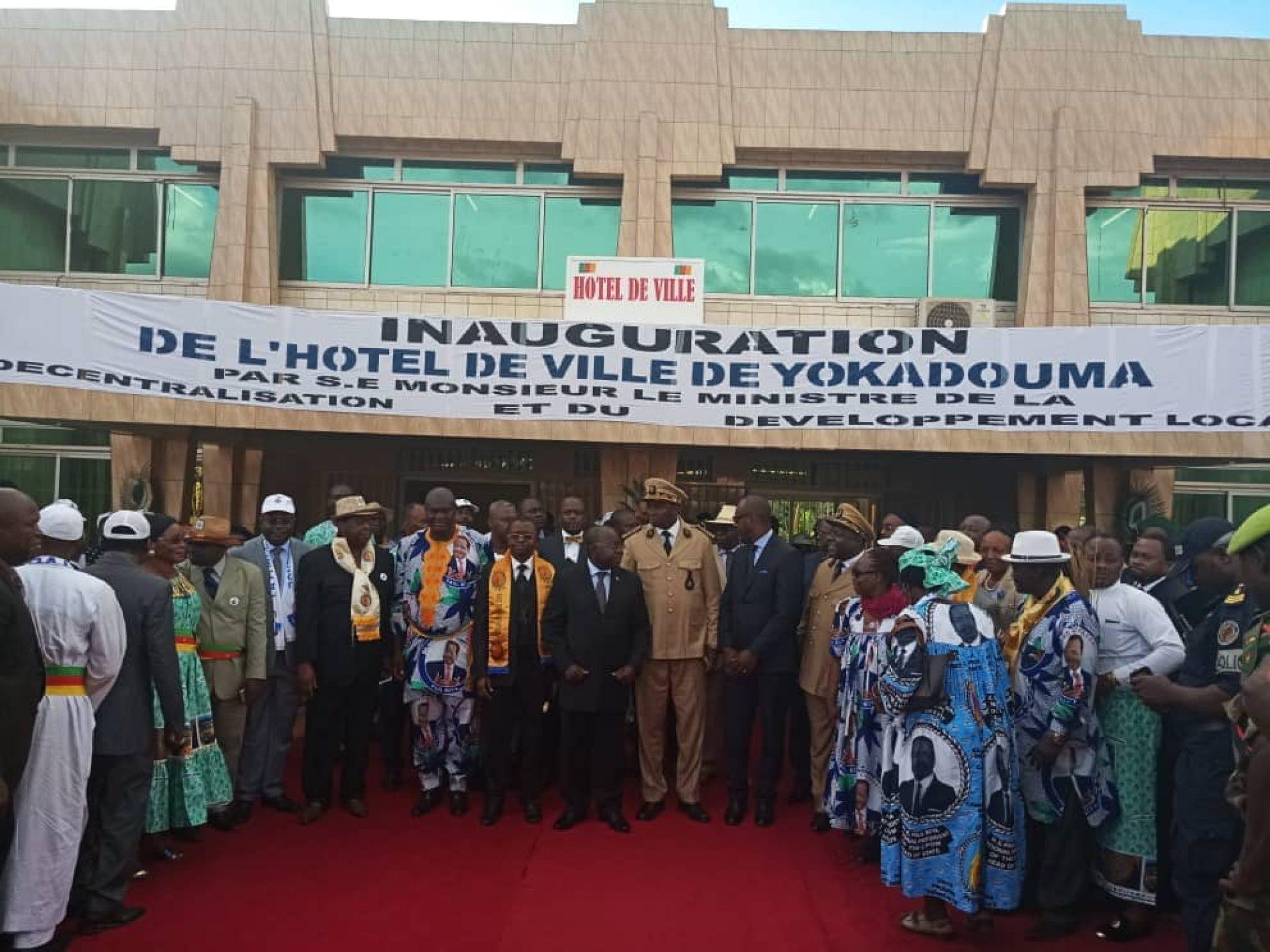Bertoua : L'Hôtel de ville de Yokadouma sort de terre