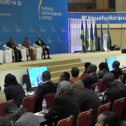 Umushyikirano 2018: Des citoyens égaux pour les échanges