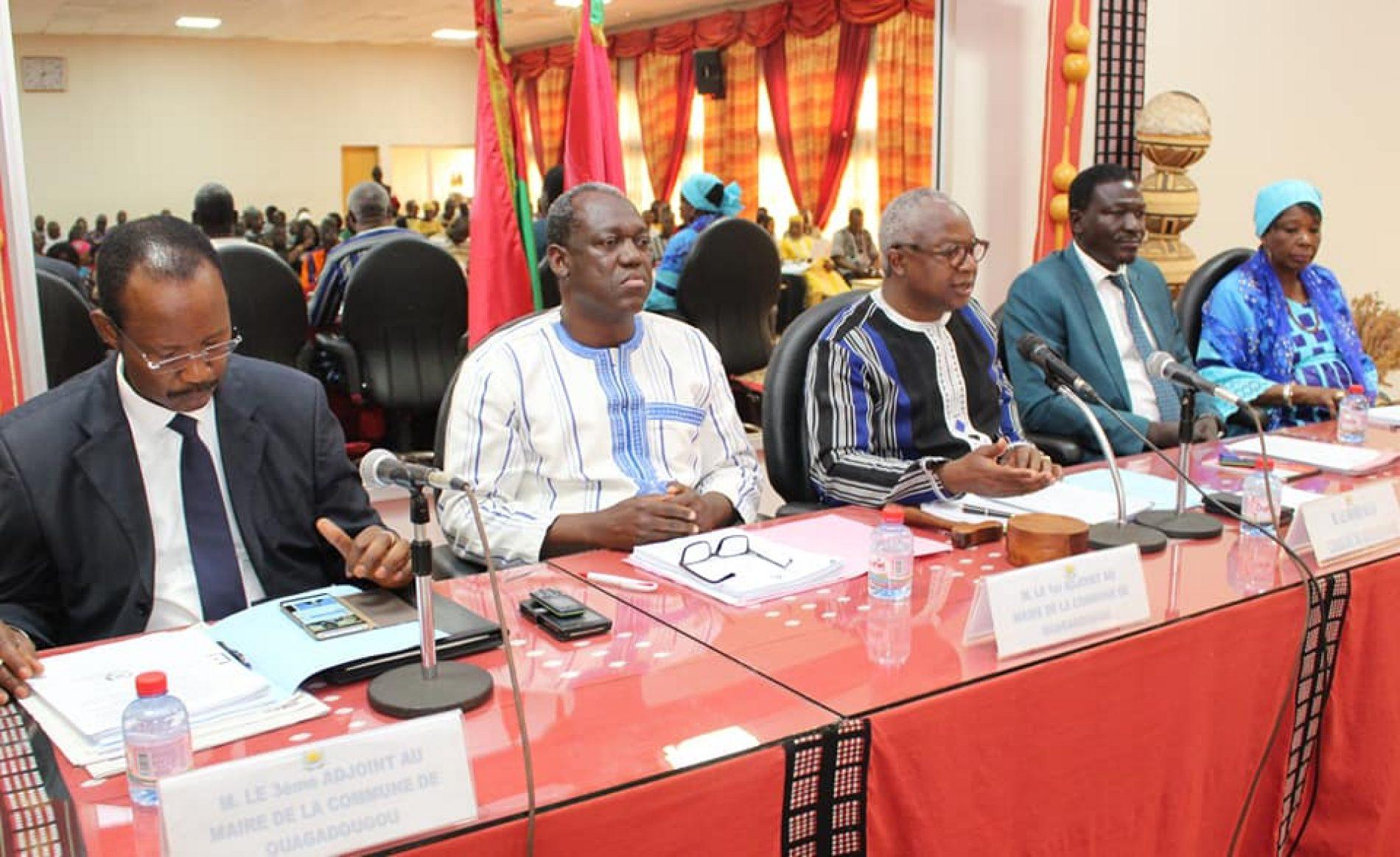 Conseil municipal de Ouagadougou : Recouvrement et taxes locales au menu