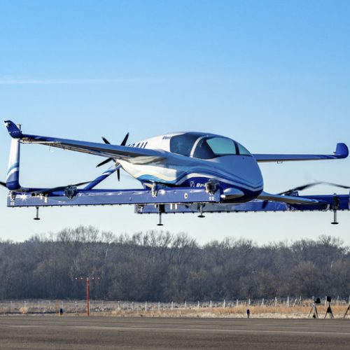 Transport urbain : Premier essai en vol de la voiture volante de Boeing