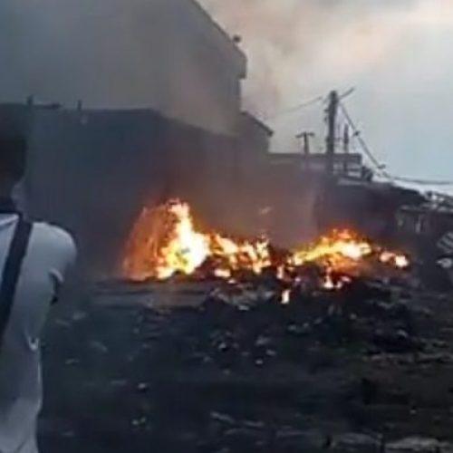 Douala : Le marché Congo à nouveau incendié