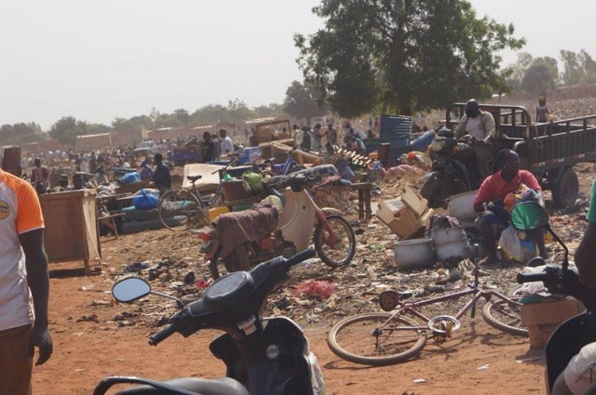 Commune de Bobo-Dioulasso : Une opération de déguerpissement met les populations en colère.