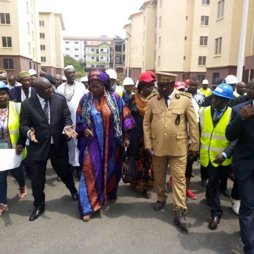 PLANUT: Célestine Ketcha Courtès en visite de travail à Douala