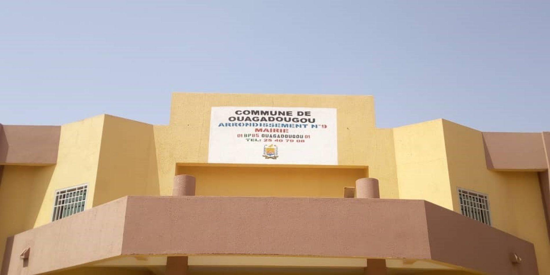 Burkina-Faso : la mairie de l'arrondissement N°9 de Ouagadougou, se dote d'un nouveau siège