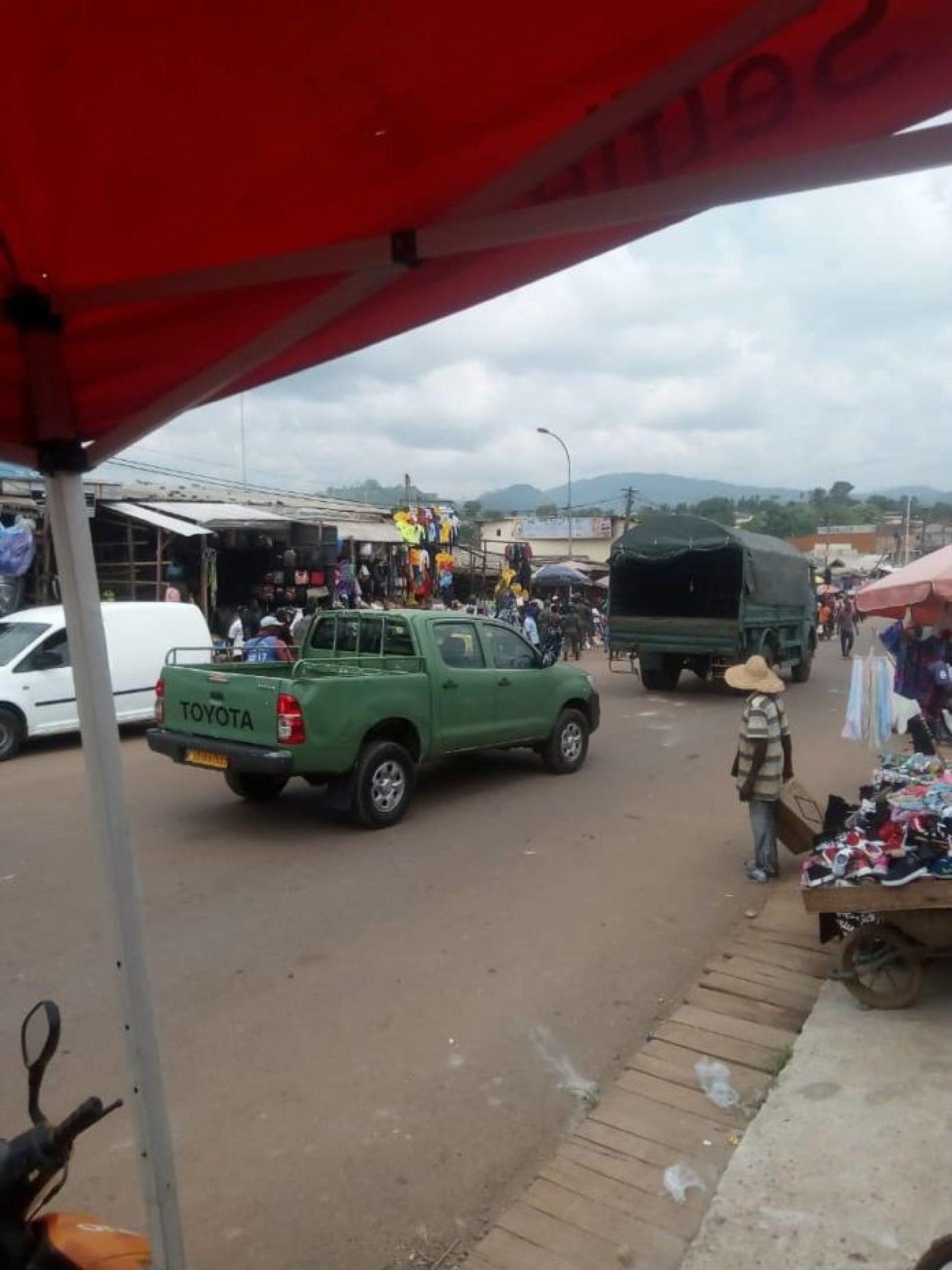 Ebolowa – désordre urbain : Les commerçants déguerpis par les forces de l'ordre!