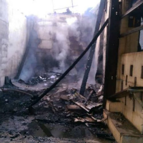 South Region – fifteen shops consumed by flames at Ebolowa market