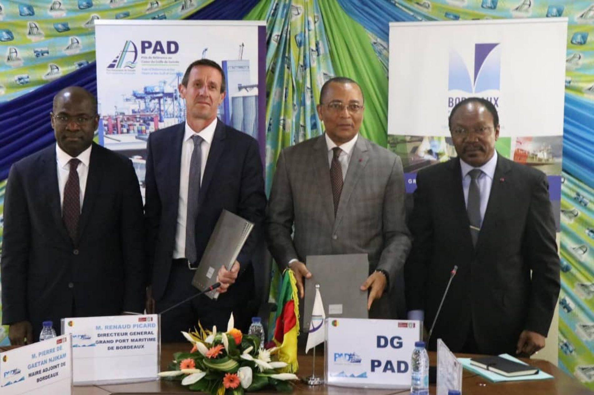 Commerce : Coopération entérinée entre les Ports de Douala et Bordeaux