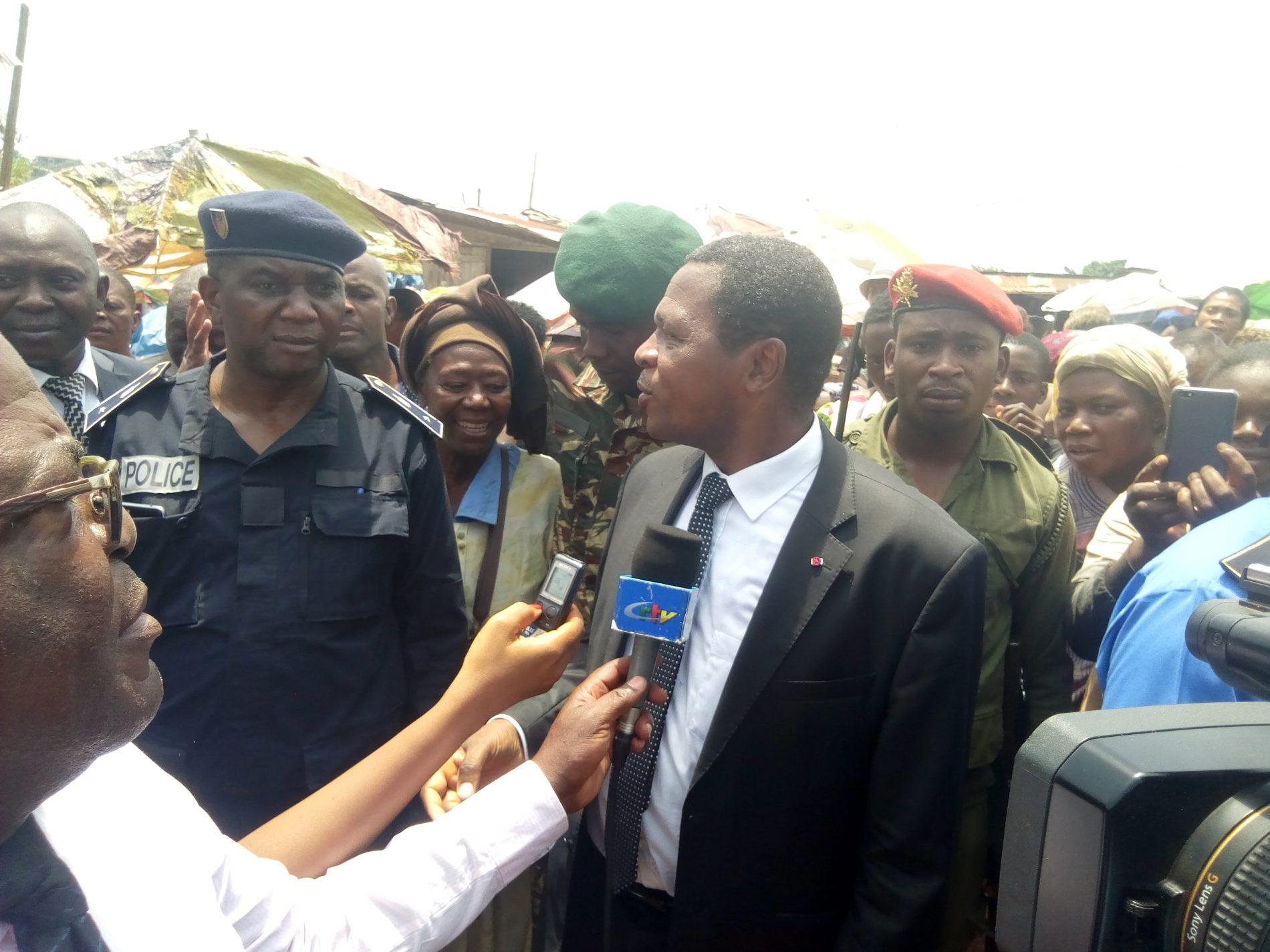 Orages à Meyomessi : Paul Atanga Nji se rapproche des populations