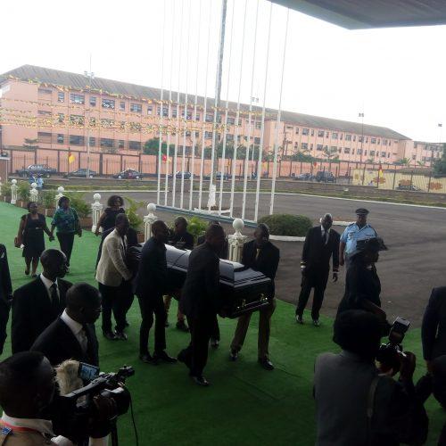 Assemblée Nationale : Hommages nationaux à deux parlementaires disparus