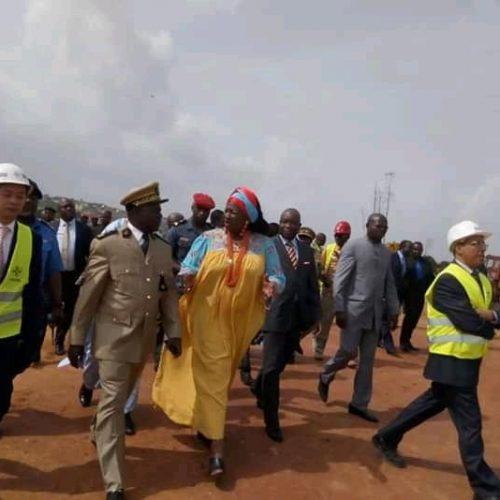 Mobilité urbaine : Le MINHDU évalue les travaux de l'autoroute Yaoundé-Nsimalen