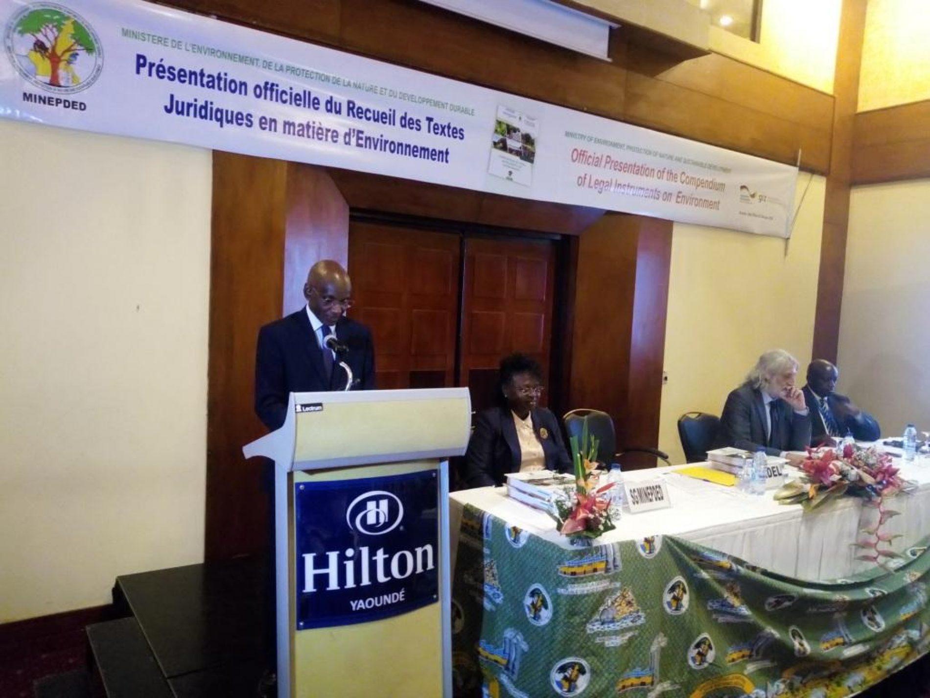 Protection de l'environnement: Le Cameroun se dote d'un guide juridique