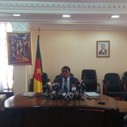 Plan d'urgence humanitaire : Paul Atanga Nji fait le point