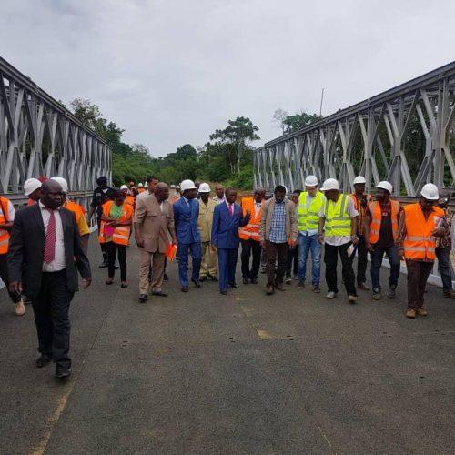 Travaux publics: 55 ponts métalliques préfabriqués bientôt installés
