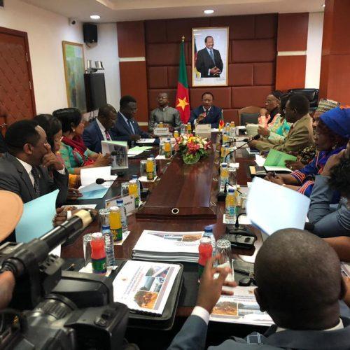 Travaux Publics : Emmanuel Nganou Djoumessi reçoit les parlementaires