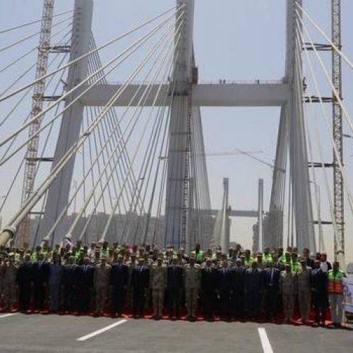 Égypte – Travaux publics : Inauguration du plus large pont suspendu du monde !