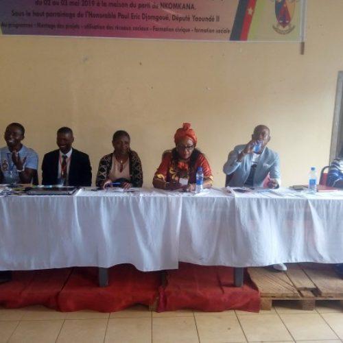 Commune de Yaoundé 2ème : Tenue d'un séminaire de formation en faveur de la jeunesse