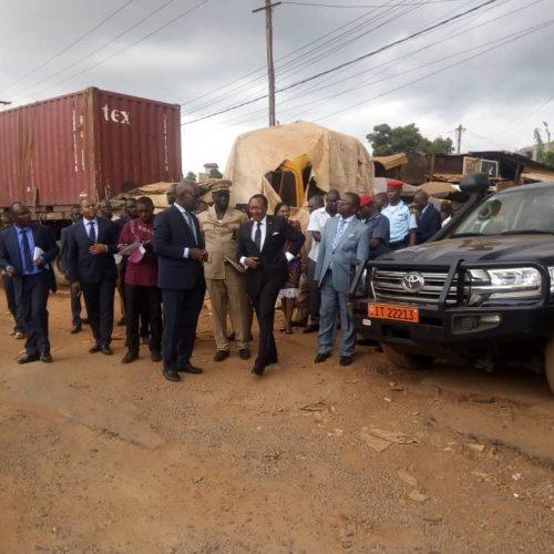 Aménagement routier – Mefou et Afamba : Nganou Djoumessi évalue les travaux
