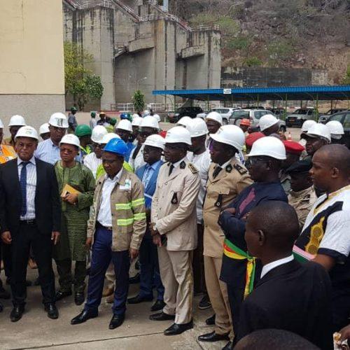 Barrage Hydroélectrique de Lagdo : Gaston Eloundou Essomba en visite d'inspection