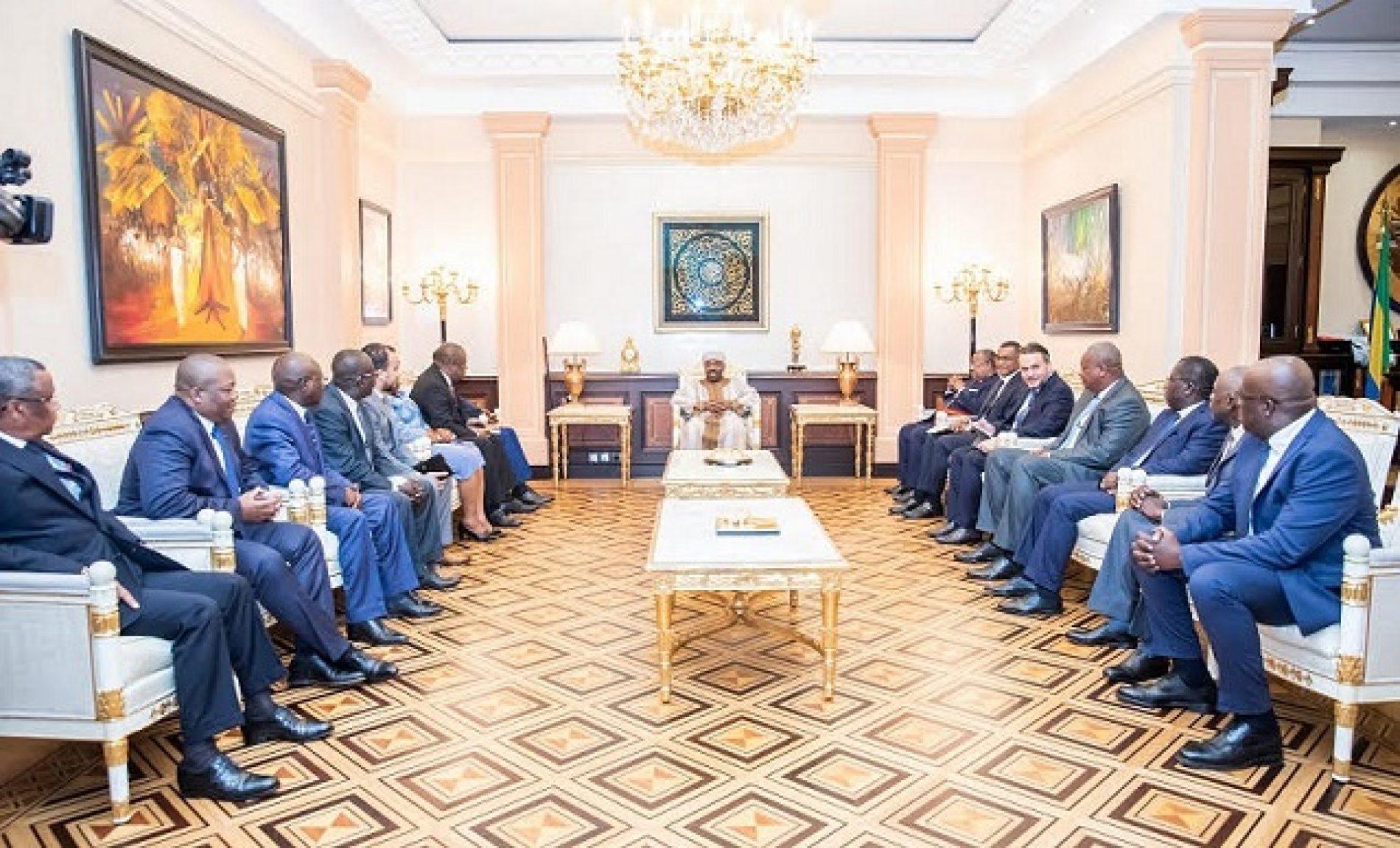 Gabon: Le Chef de l'Etat Ali Bongo reçoit les maires