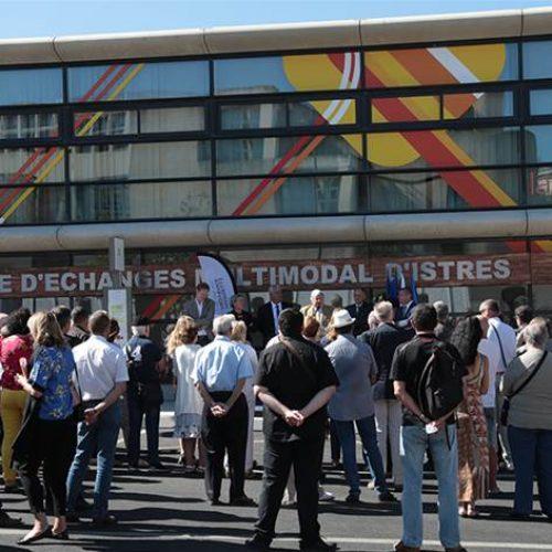 France – Istres : La gare routière du Palio métamorphosée