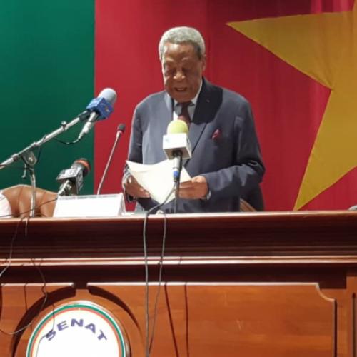 Rentrée parlementaire: Marcel Niat Njifenji condamne les atteintes à l'unité du pays