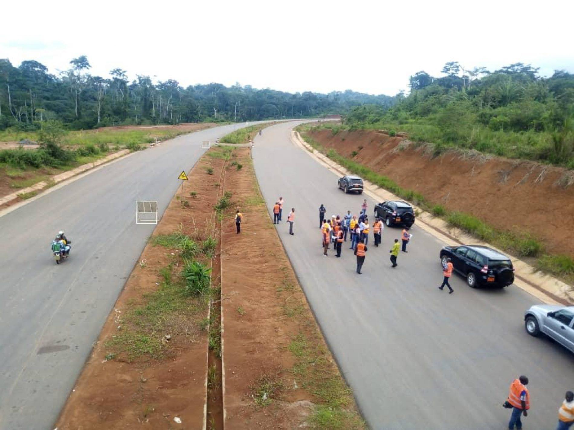 Aménagement routier: 74% de réalisation en première phase pour l'autoroute Douala-Yaoundé